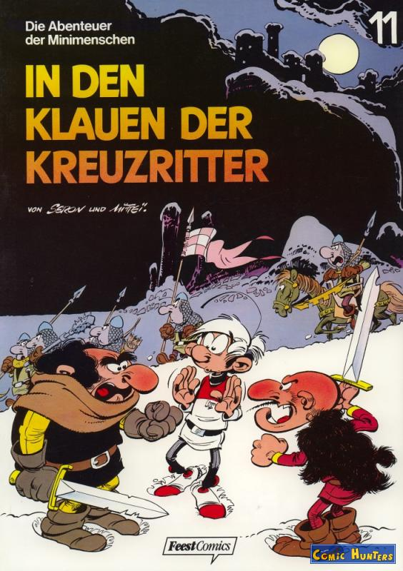 comic cover In den Klauen der Kreuzritter 11