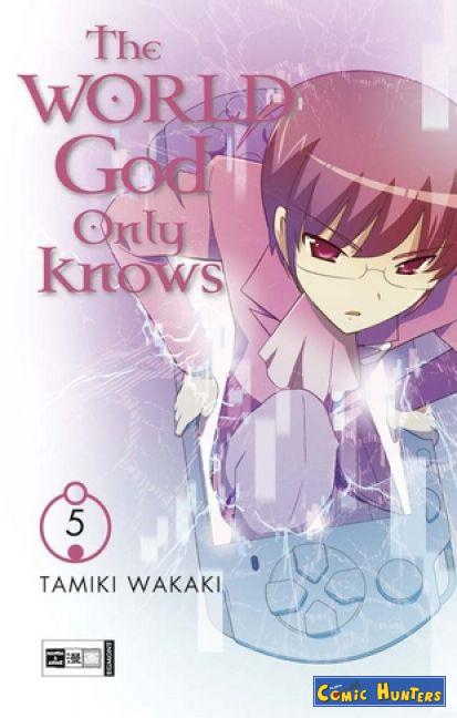 comic cover The World God Only Knows 5