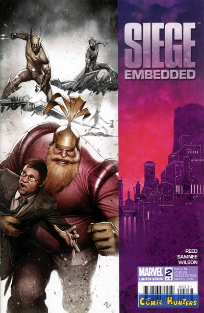 comic cover Siege: Embedded 2