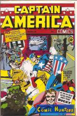 Captain America Comics (Gold - Prägung)