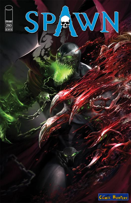 comic cover Spawn 293