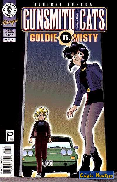 comic cover Gunsmith Cats: Goldie vs. Misty 4