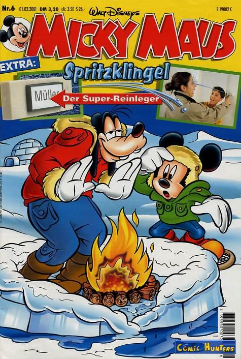 comic cover Micky Maus Magazin 6