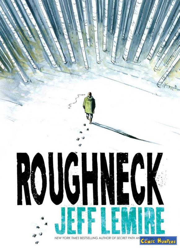 comic cover Roughneck