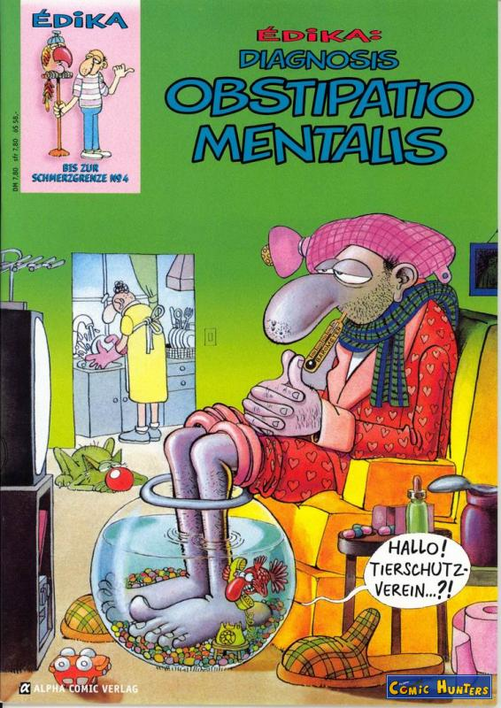 comic cover Diagnosis Obstipatio Mentalis 4
