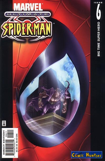 comic cover Ultimate Spider-Man 6