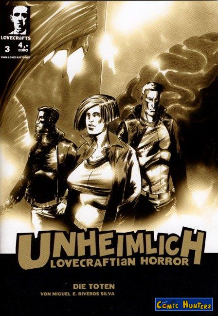 comic cover Unheimlich Lovecraftian Horror 3