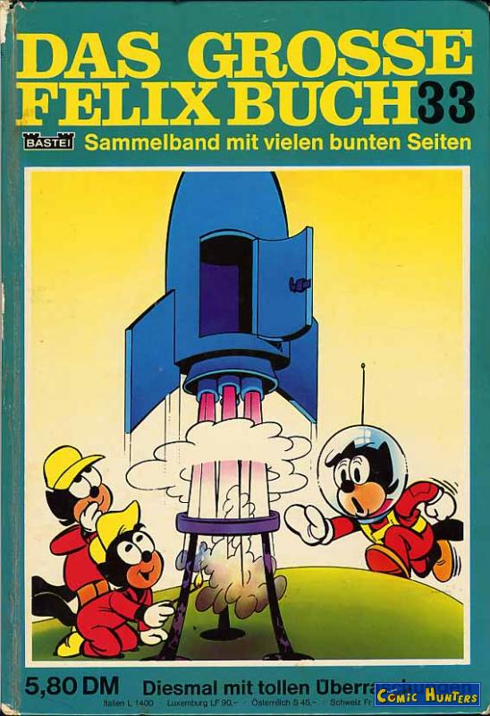 felix extra sonderband nr 13 bastei hachette 1951 dessine par