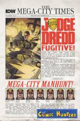 The Mega-City Manhunt, Part 1: The Most Despised Face of the 22nd Century