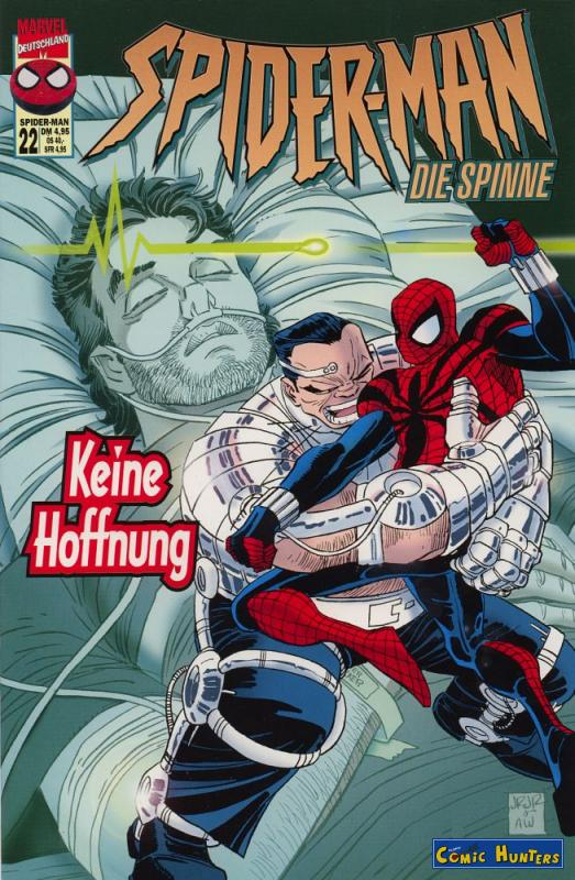 comic cover Spider-Man 22