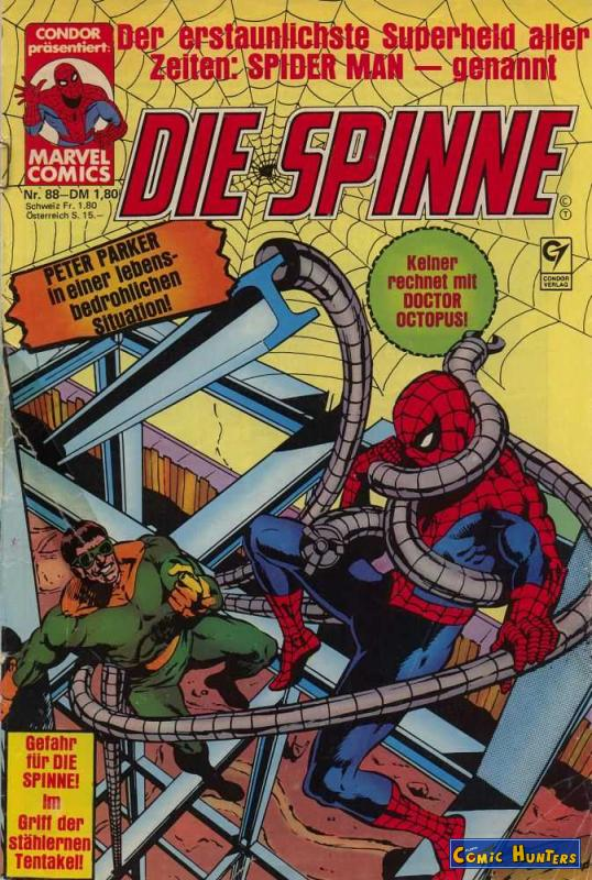 comic cover Die Spinne Magazin 88