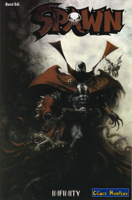 comic cover Spawn 66
