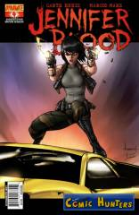 Jennifer Blood (Ale Garza Variant Cover-Edition)