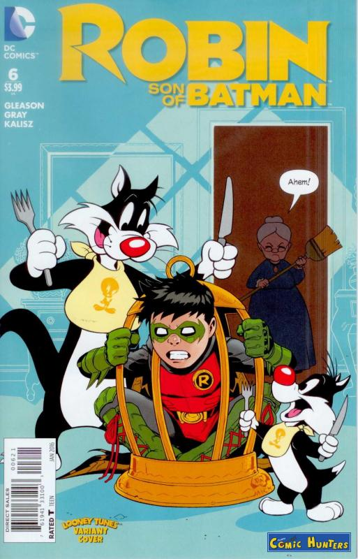 comic cover Year of Blood, Part Six (Looney Tunes Variant Cover-Edition) 6