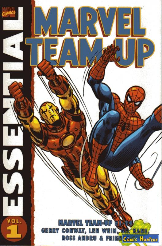 comic cover Essential Marvel Team-Up 1
