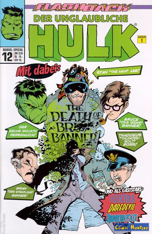 comic cover Flashback 12