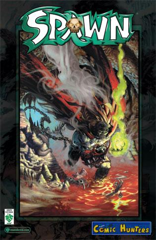 comic cover Spawn 158