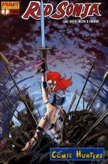 Red Sonja (John Cassady Variant Cover-Edition)