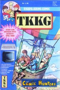 comic cover TKKG 11