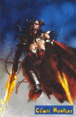 Dark Nights: Metal (Bulletproof / NYCC Exclusive - Gabriele Dell'Otto 'Wonder Woman Flaming Swords Blue' Virgin Art)