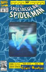 The Spectacular Spider-Man (Silver Hologramm Cover)