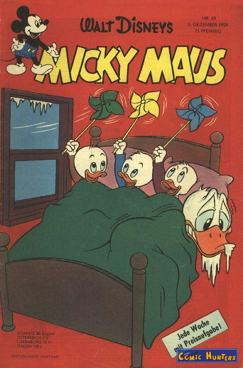 comic cover Micky Maus Magazin 49