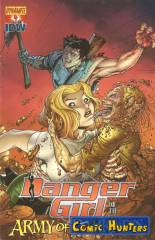 Danger Girl and the Army of Darkness (Nick Bradshaw Variant Cover-Edition)