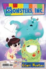 Monsters, Inc: Laugh Factory (Cover B)