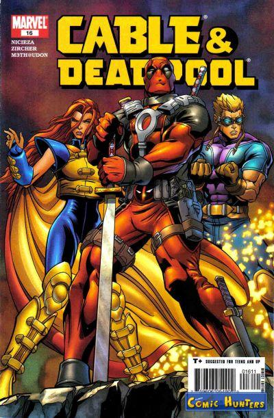 comic cover Cable & Deadpool 16