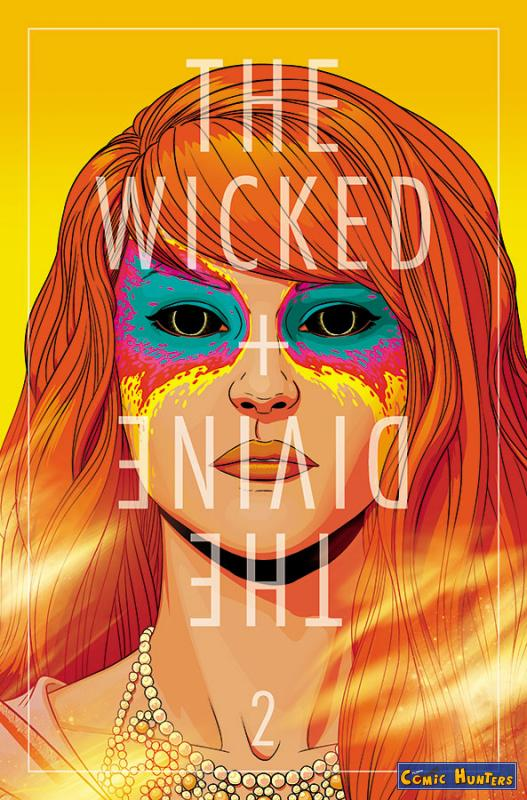 comic cover The Wicked + The Divine 2