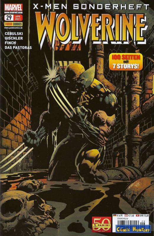 comic cover Wolverine 29
