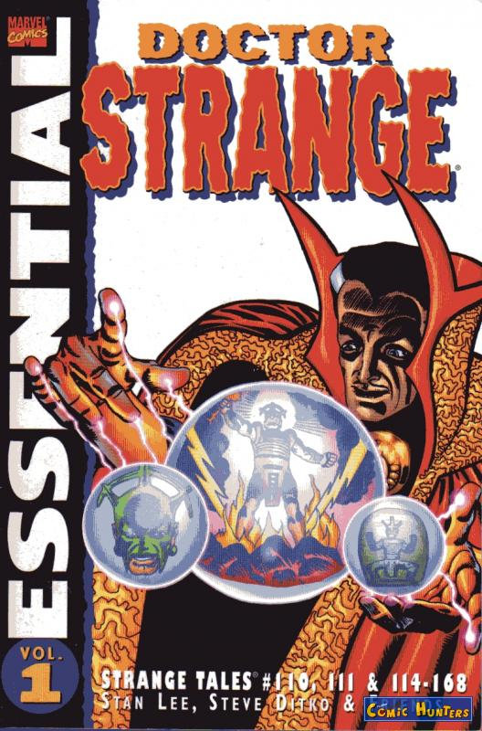 comic cover Essential Doctor Strange Vol. 1 1