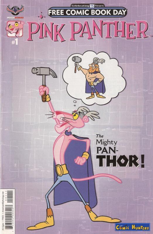 comic cover Pink Panther 1