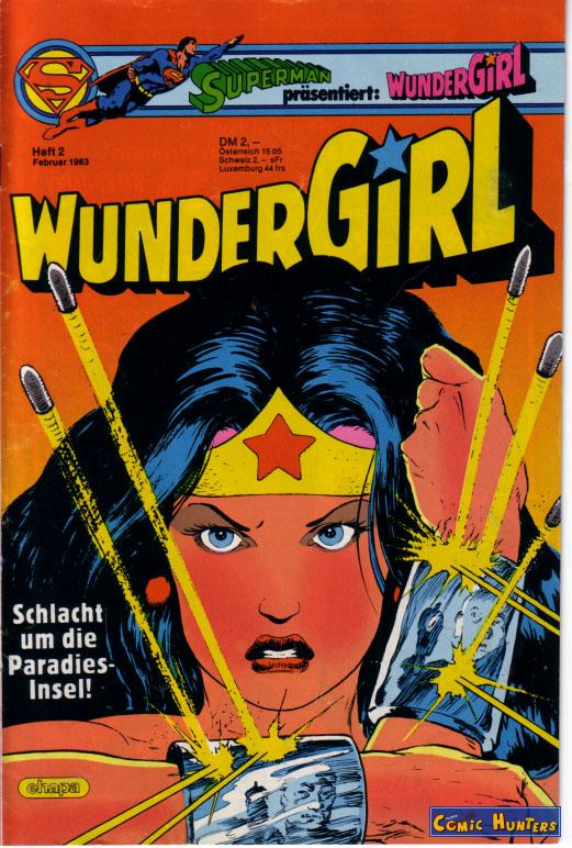 comic cover WunderGirl 2