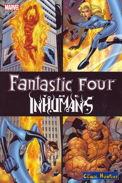 comic cover Fantastic Four / Inhumans 1
