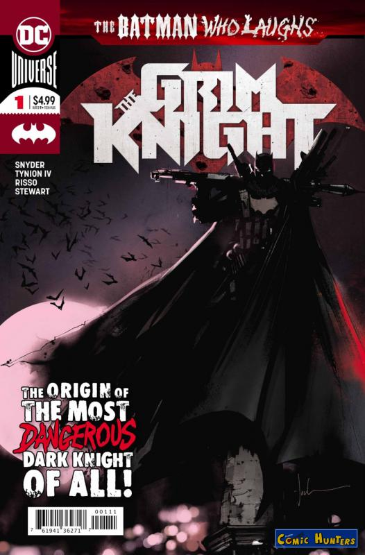 comic cover A Grim Knight in Gotham 1