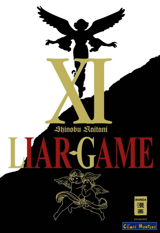 comic cover Liar Game 11
