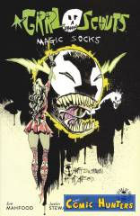 Grrl Scouts: Magic Socks (Spawn Month Variant Cover-Edition)