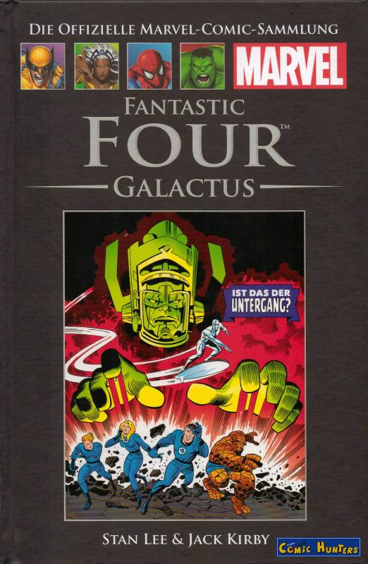 comic cover Fantastic Four: Galactus Classic IV