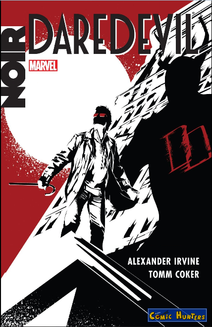 comic cover Daredevil Noir