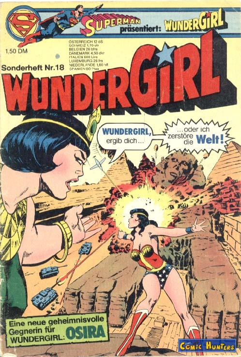 comic cover WunderGirl 18