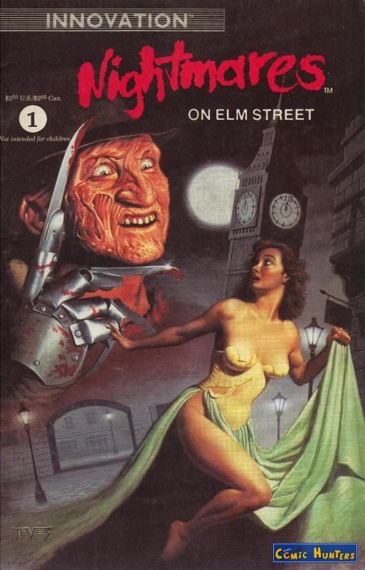 comic cover Nightmares On Elm Street 1