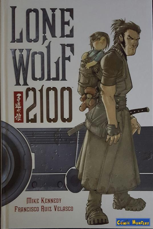comic cover Lone Wolf 2100