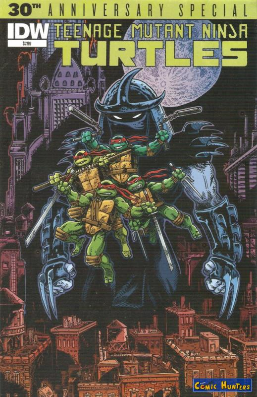 comic cover Teenage Mutant Ninja Turtles: 30th Anniversary Special
