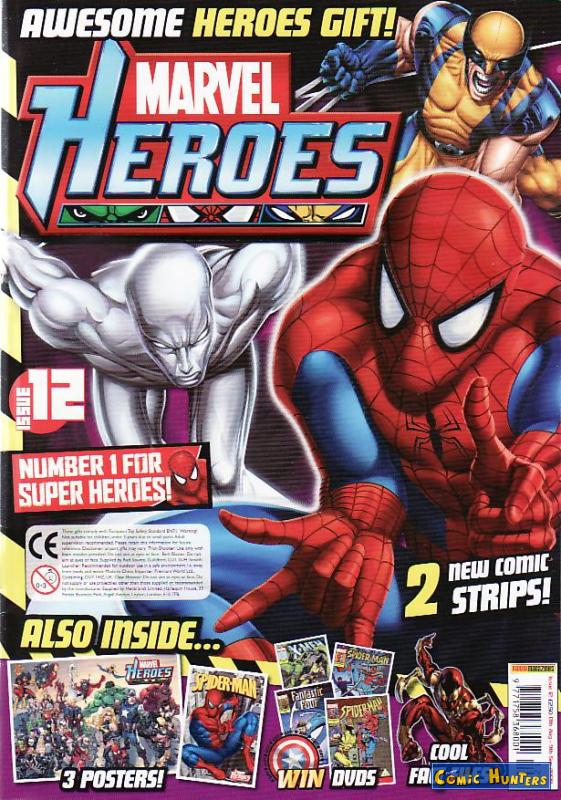 comic cover Marvel Heroes 12