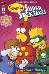 Simpsons Super Spektakel (Variant Cover-Edition)