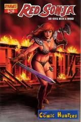 Red Sonja (Michael Linsner Cover)