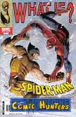 comic cover What if?   Spider-Man vs. Wolverine 1