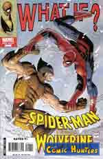 Thumbnail comic cover What if?   Spider-Man vs. Wolverine 1