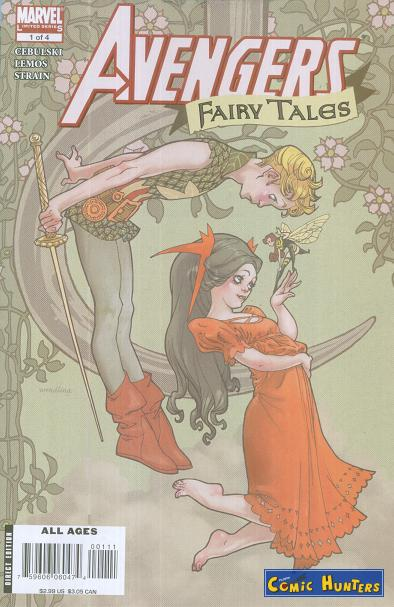 comic cover Avengers Fairy Tales 1